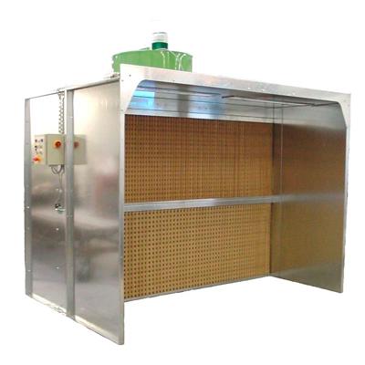 Ventilacion para cabinas de pintura